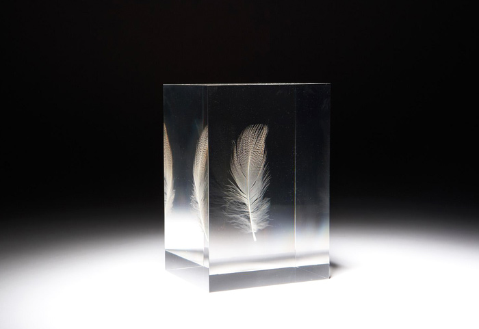 """""""FLOATING FEATHER"""" SCULPTURES, #2# sold by Sotheby's, New York, on Friday, March 28, 2008"""