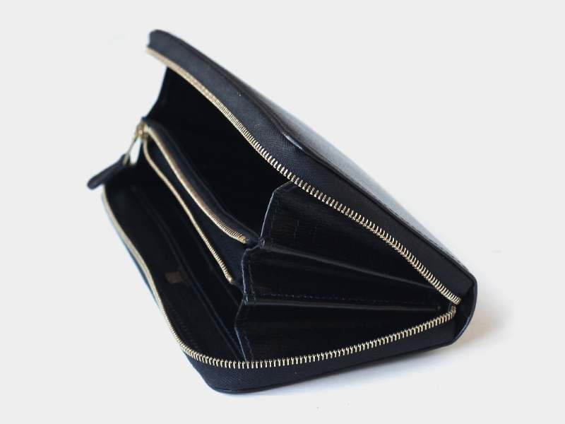 FRAME / S2622 LONG ZIP WALLET / GERMAN
