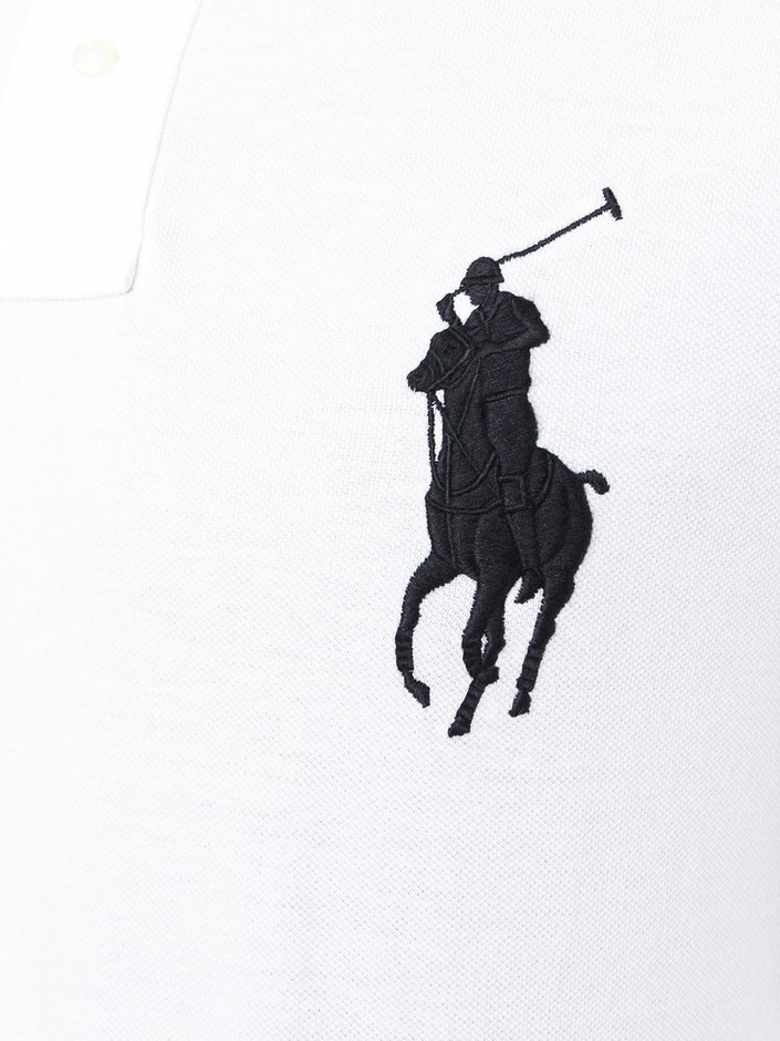 Polo Ralph Lauren Long Sleeve Polo Shirt - Sugar - Farfetch.com