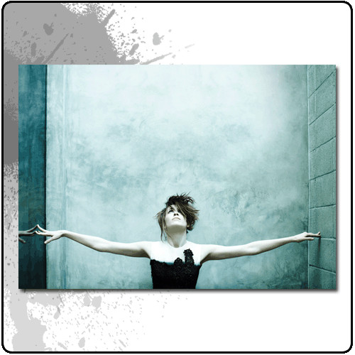 Imogen Heap   Imogen Arms Wide   Poster   Officially Licensed Music T shirts, Hoodies and other merchandise.