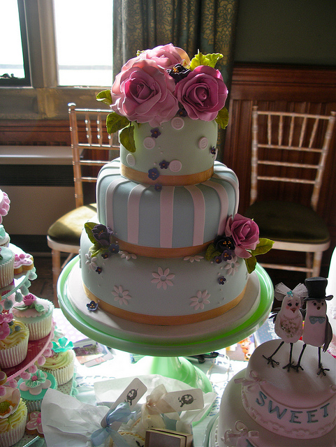 All sizes | Cakes at Carlton Towers wedding fair | Flickr - Photo Sharing!