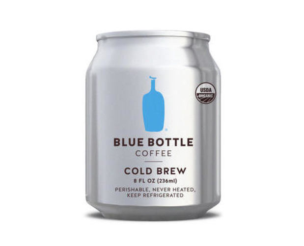 Blue Bottle's popular cold brew now comes in a can - Acquire