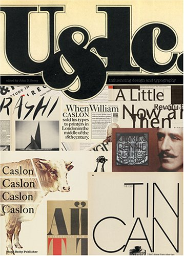 Amazon.co.jp: U&lc: influencing design & typography: John Berry: 洋書