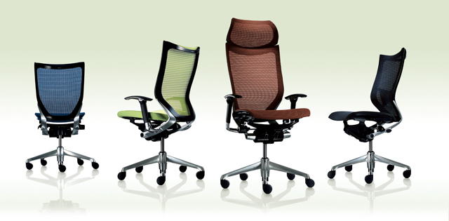 Ergonomic Mesh Chair Baron > Style Variation