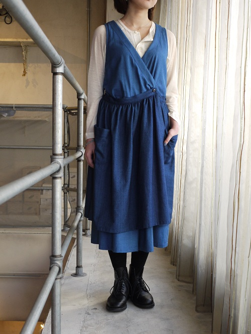 Oxford Down Apron One-piece ASEEDONCLOUD 通販 ARCH HERITAGE