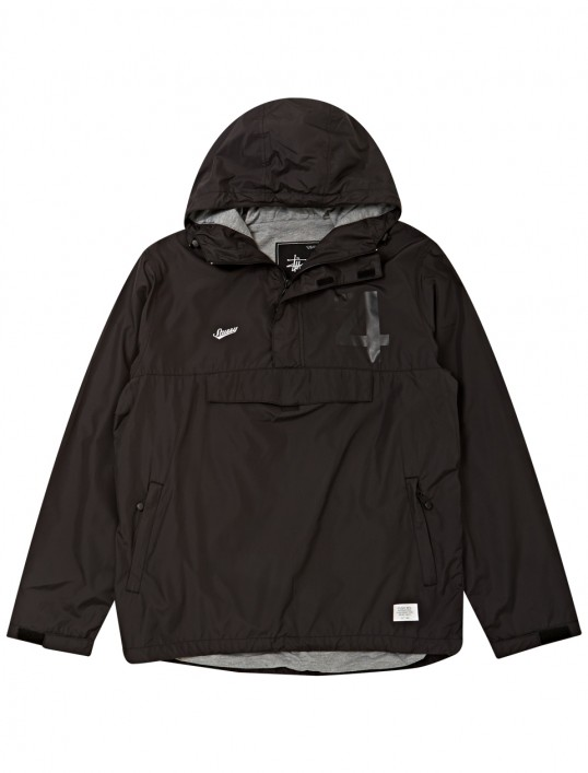 No. 4 Hooded Pullover Jacket