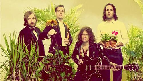 The Killers with some plants - Music Photo (15501873) - Fanpop fanclubs