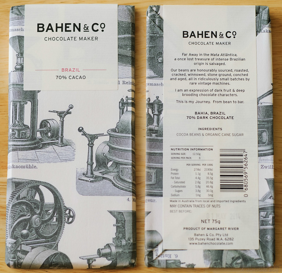Bahen & Co. Chocolate – Margaret River, Western Australia (Source: Various) | Little Brown Squares: A Chocolate Blog
