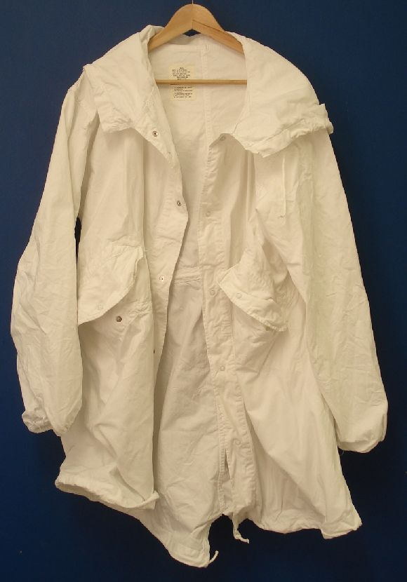 US M65 White Snow Camo Fishtail Parka Genuine US Issue | eBay