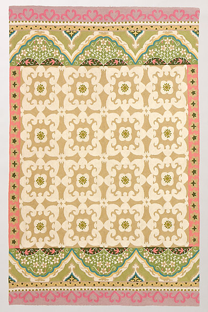 Floral Fresco Rug - Anthropologie.com