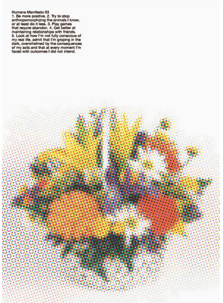 Manifesto03 poster /HUMANS BY MIKE MILLS / ON READING Online Shop