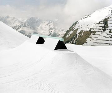 Philippe Fragnière: Snowpark | Books | The Photographers' Gallery