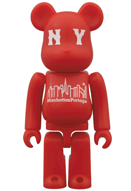 MEDICOM TOY - BE@RBRICK Manhattan Portage 30th Anniversary Model
