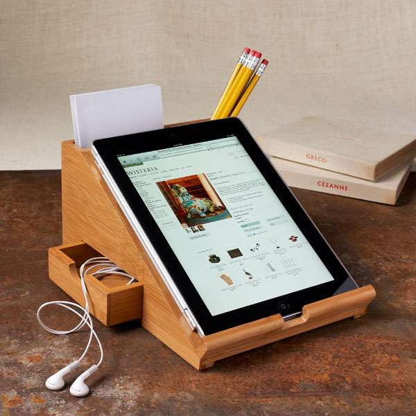 74 Facilitative Tablet Stands - From Toddler Tablet Toilets to Choppable Tablet Holders (TOPLIST)