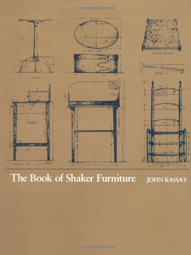 Amazon.co.jp: The Book of Shaker Furniture: John Kassay: 洋書