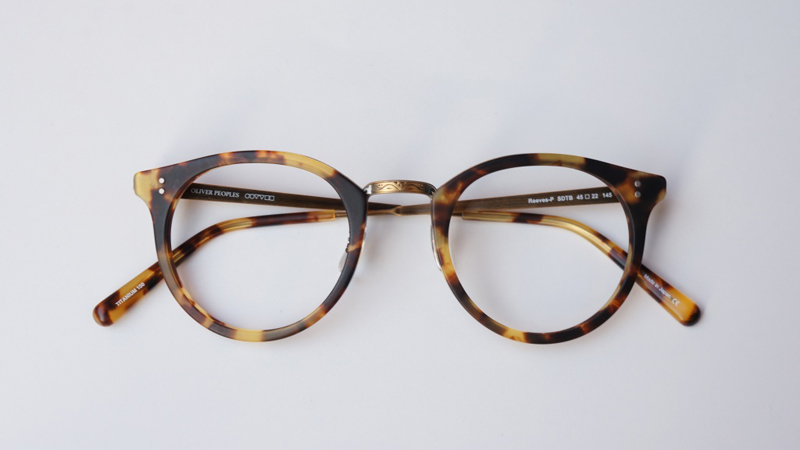 OLIVER PEOPLES オリバーピープルズ メガネ Reeves-P SDTB 欧米モデル