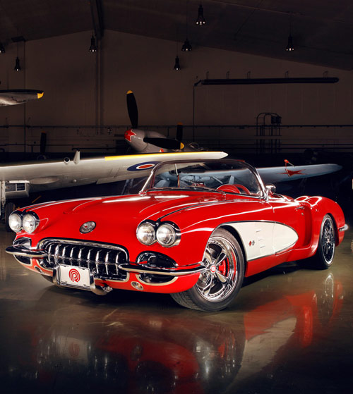 1959 CHEVROLET CORVETTE CUSTOM by POGEA RACING: タゴのロケンローブログ