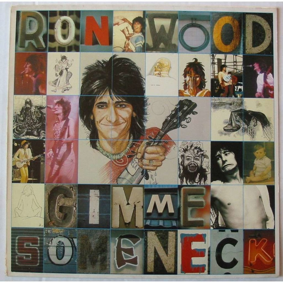GIMME SOME NECK - RON WOOD - ( LP ) - 売り手: luckystar - Id:118001615