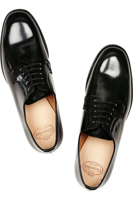 Churchs Shannon Glossed-leather Derby Shoes Churchs Shannon Glossed-leather Derby Shoes – Feet Fuss