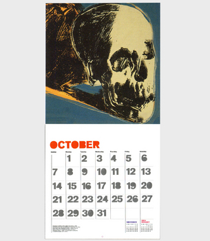 Warholstore.com The Art of Andy Warhol 2013 Wall Calendar