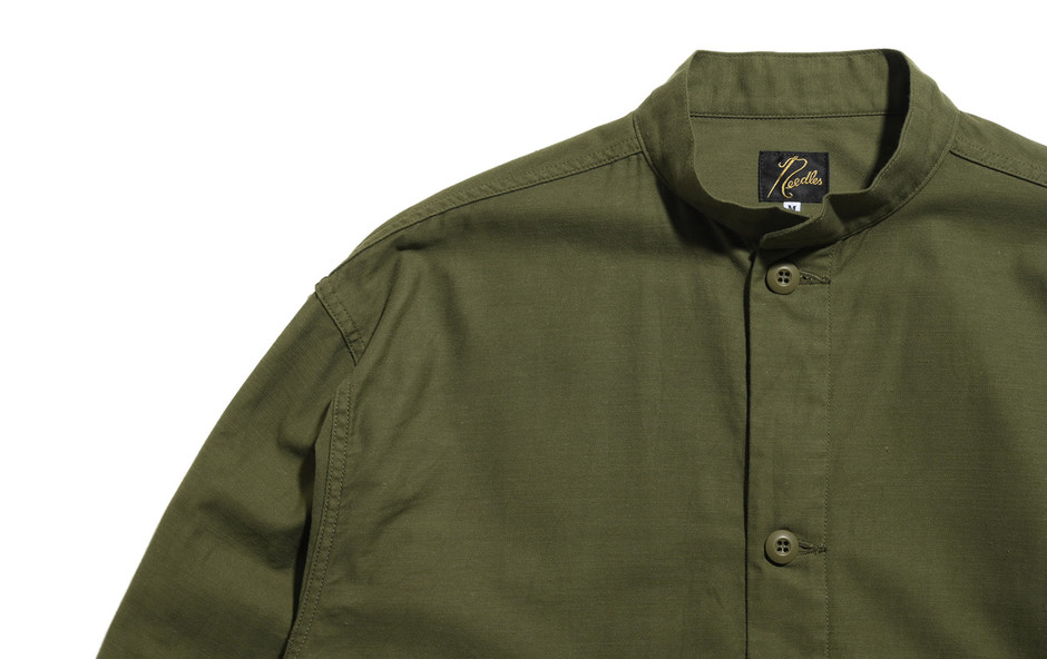 S.C. Army Shirt-Back Sateen-Olive