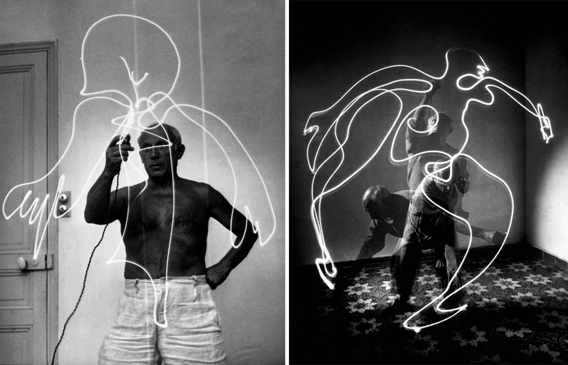 pablo picasso's light drawings from 1949