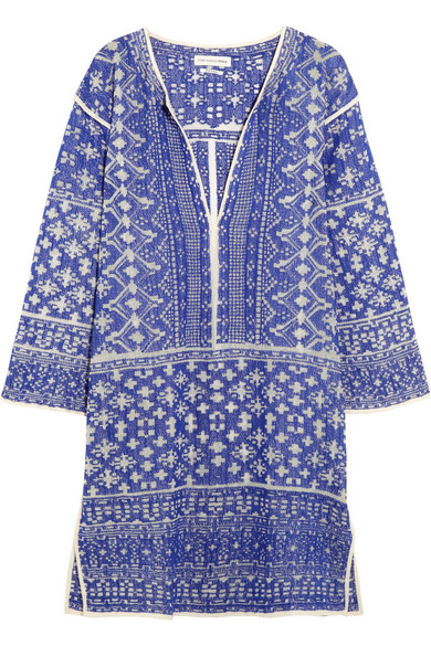 Étoile Isabel Marant | Bloom woven cotton-blend mini dress | NET-A-PORTER.COM