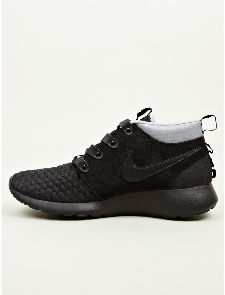 Nike Men's Black Roshe Run Sneakerboots | oki-ni