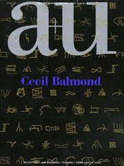 Amazon.co.jp: Cecil Balmond―a+u Special Issue(エー・アンド・ユー臨時増刊): セシル・バルモンド, ジェイムズ・スターリング, 伊東 豊雄: 本