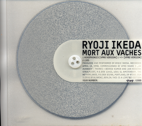 Images for Ryoji Ikeda - Mort Aux Vaches