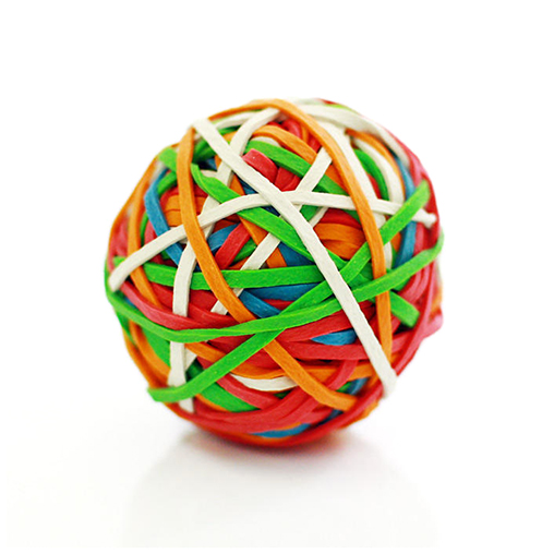 STAPLES / Rubber Band Ball(ラバーバンドボール) - Eight Hundred Ships & Co.