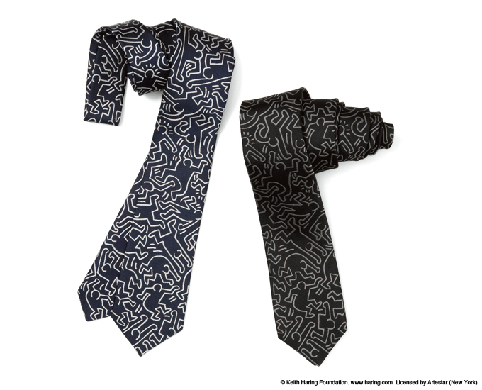 uniform experiment | PRODUCT | KEITH HARING NARROW NECK TIE
