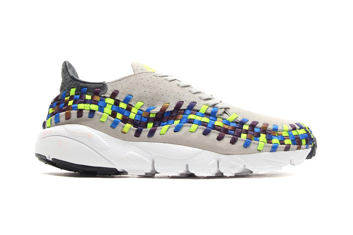 AIR FOOTSCAPE WOVEN MOTION 「LIMITED EDITION for EX」 GRY/BLU/YEL/WHT ナイキ NIKE | ミタスニーカーズ|ナイキ・ニューバランス スニーカー 通販