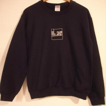 """Homecomings - """"Somehow,Somewhere"""" 刺繍SWEAT - SECOND ROYAL 