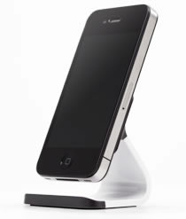 Bluelounge - Milo: Micro-Suction Stand for your smartphone. Now available in cool aluminium finish.
