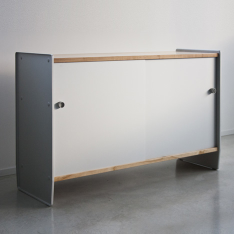 Theca and Steelwood Galva by Ronan and Erwan Bouroullec for Magis