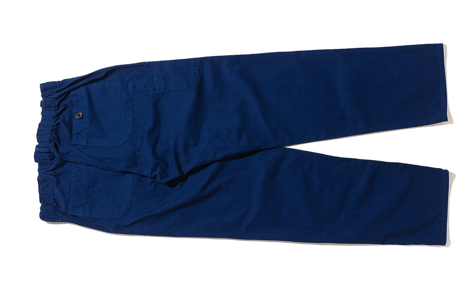 French Work Pants-Ink Blue