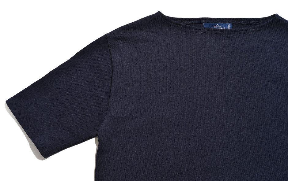 Ouessant Short Sleeve Shirts-Navy