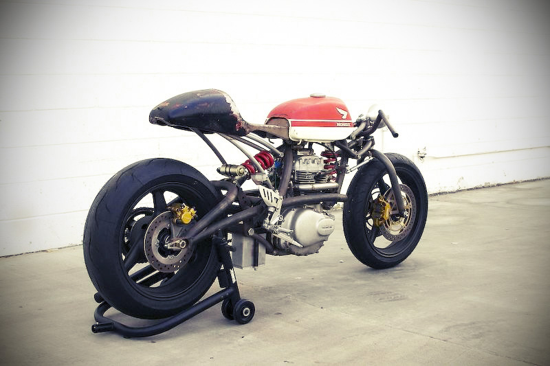 :: free the wheels ::: Custom Honda 360 by Jason Tiedeken