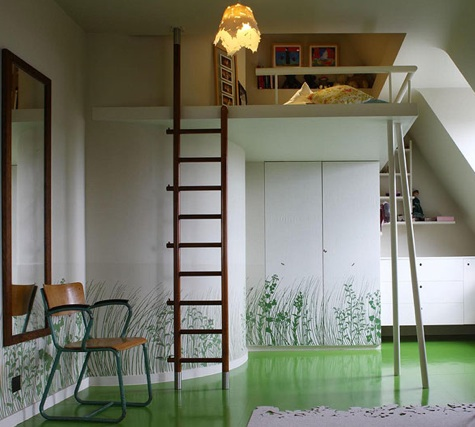 Children's Rooms: Loft Bed Roundup : Remodelista