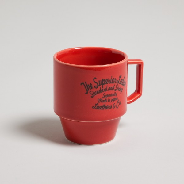Slowdownjoe | The Superior Labor x Hasami Mug - Red