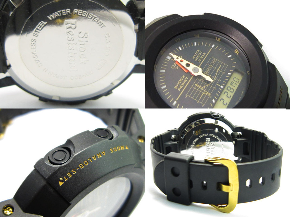 Casio: G-Shock AW-500G-1E AW-5xx photos, videos and specifications AW500G-1E | Watch Archive