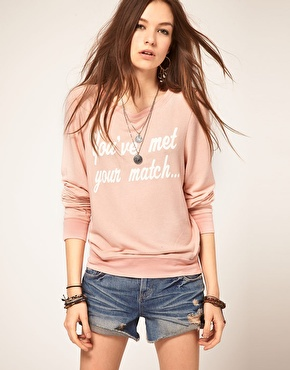 Wildfox | Wildfox You've Met Your Match Jumper at ASOS