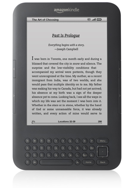 """Kindle Wireless Reading Device, Wi-Fi, Graphite, 6"""" Display with New E Ink Pearl Technology [Includes USB Cable for Charging. For International Shipment]: Kindle Store"""