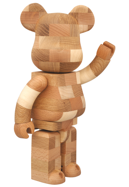 MEDICOM TOY - BE@RBRICK カリモク BRICK-STYLE TILES 400%