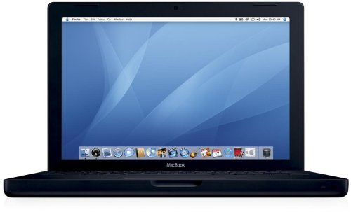 "Amazon.co.jp: Apple MacBook 13"" 2GHz Intel Core Duo/512MB/ HD80GB/ SD/ Black [MA472J/A]: パソコン・周辺機器"