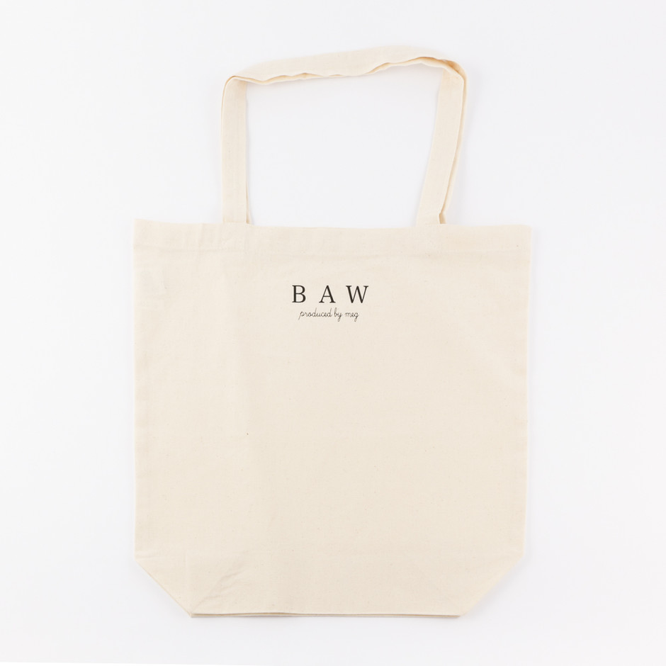 BAW - 授乳服・フラワーワンピース半袖 ピンク(トートバッグ付き)