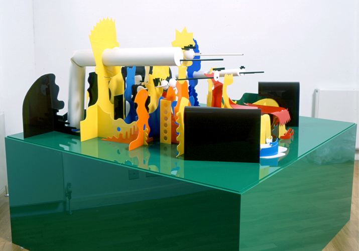 James Hopkins — Perspective Sculptures