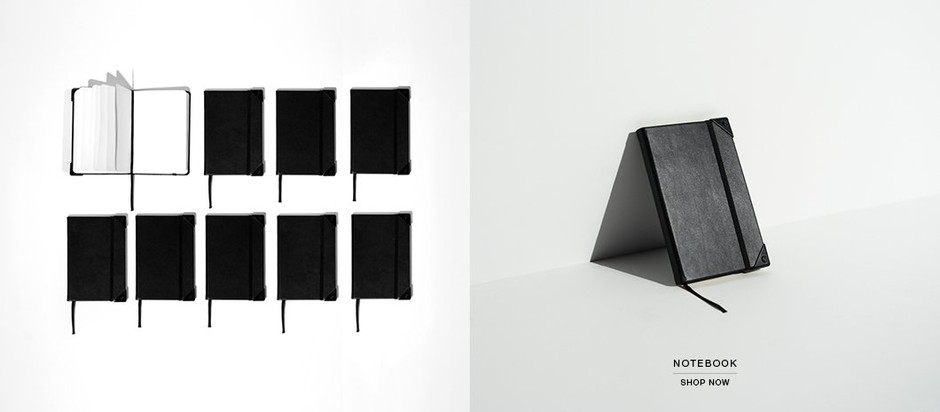 Black Notebook - Alexander Wang