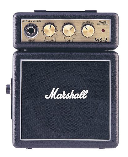Amazon.co.jp: MARSHALL MS-2 ミニアンプ: 楽器